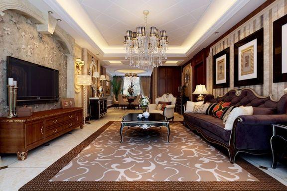 简欧风格138平米四室两厅新房装修效果图