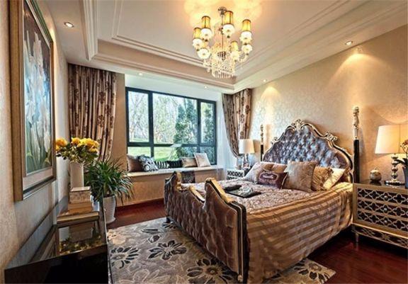 欧式风格150平米复式新房装修效果图