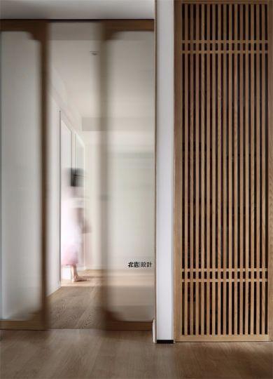 玄关隐形门简约风格效果图