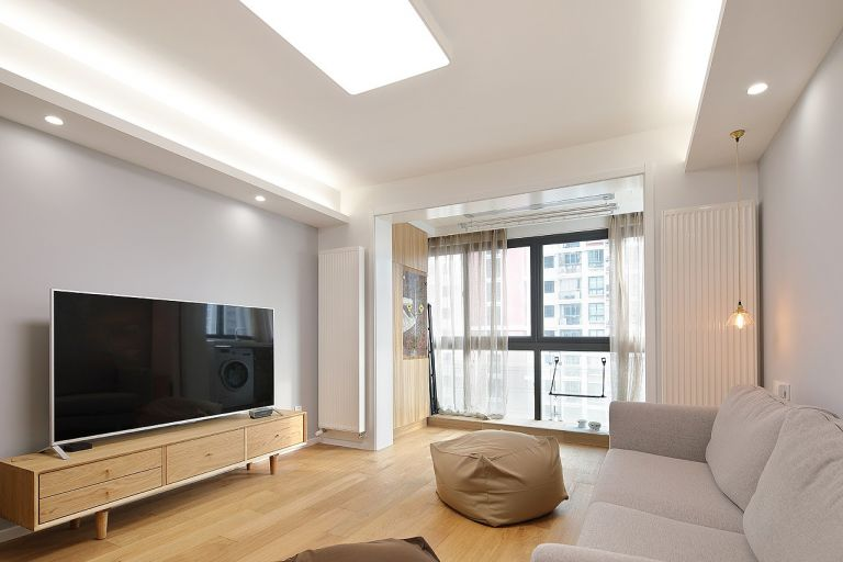 119平米日式风格三居室装修效果图