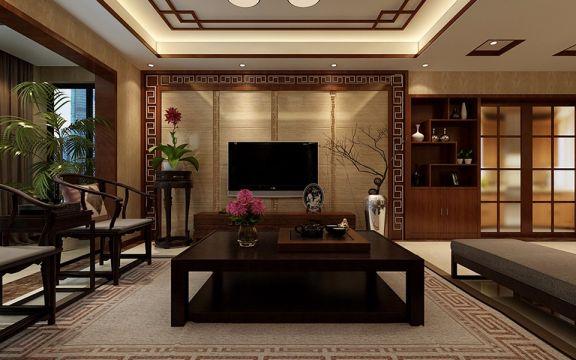 15.6万预算150平米三室两厅装修效果图