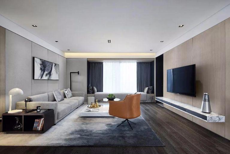 简约风格260平米四室两厅新房装修效果图