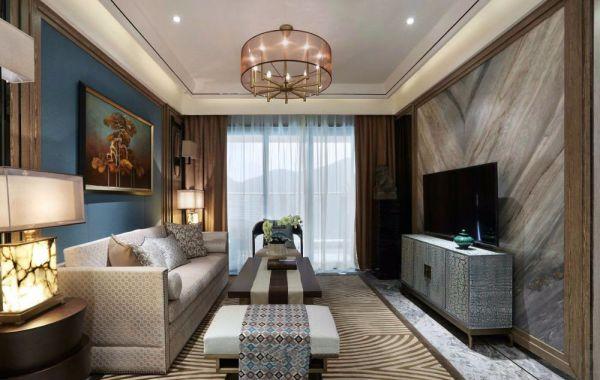 15万预算130平米三室两厅装修效果图