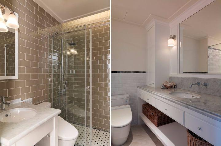 卫生间细节简约风格效果图