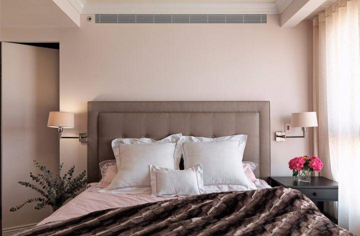 卧室隐形门简约风格装潢效果图