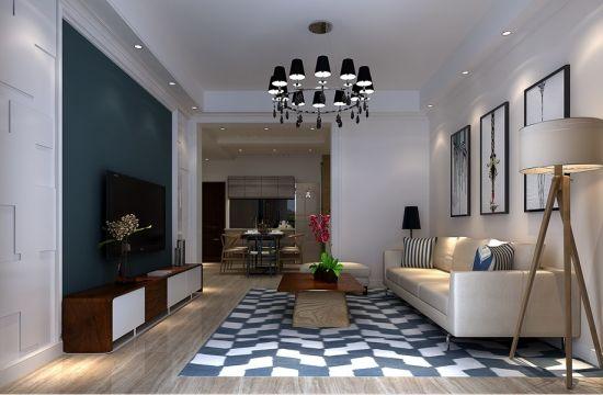 田园风格200平米复式新房装修效果图