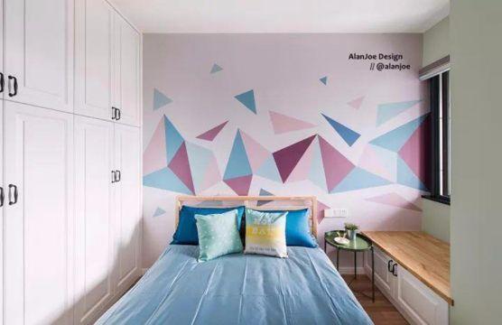 儿童房榻榻米北欧风格装潢设计图片