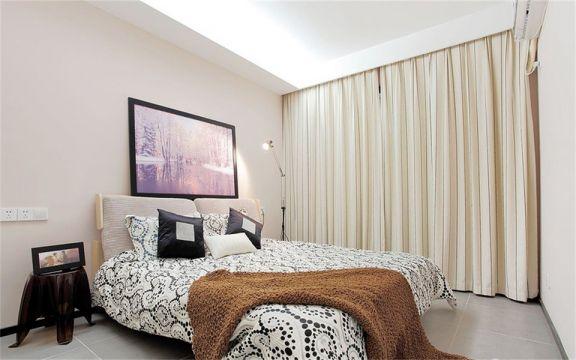 卧室照片墙简欧风格装饰图片
