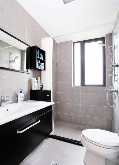 卫生间洗漱台简欧风格装潢图片