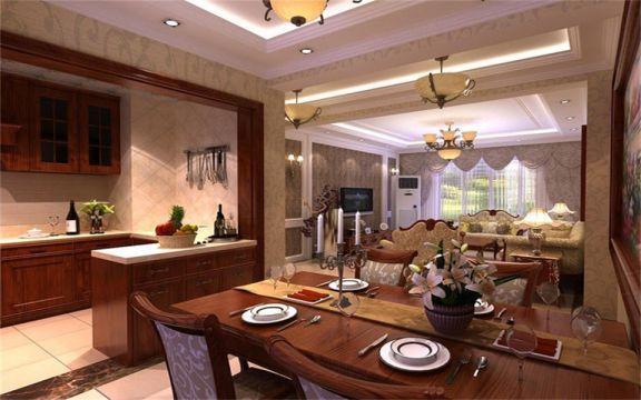 厨房橱柜欧式风格装饰图片