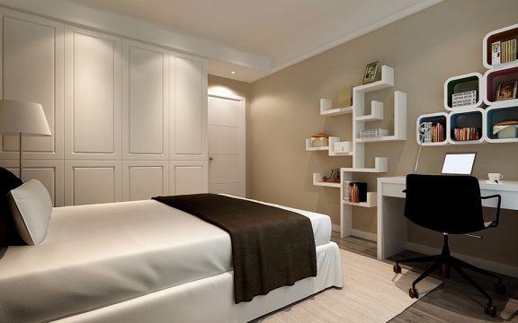 卧室衣柜现代简约风格装饰设计图片