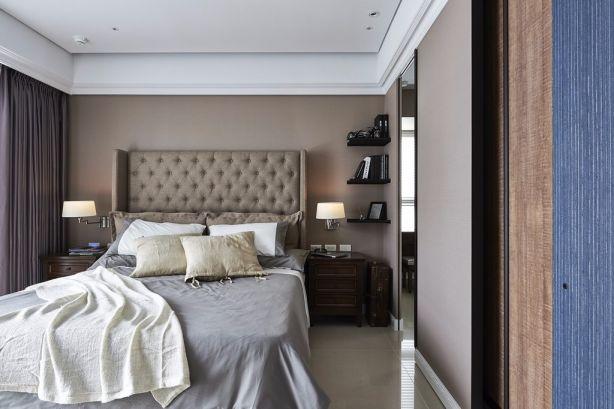2019现代简约90平米装饰设计 2019现代简约三居室装修设计图片