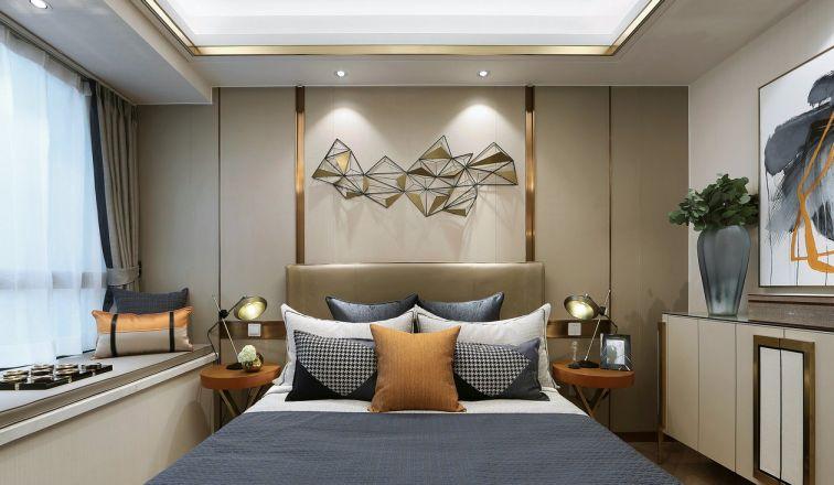 卧室白色飘窗设计