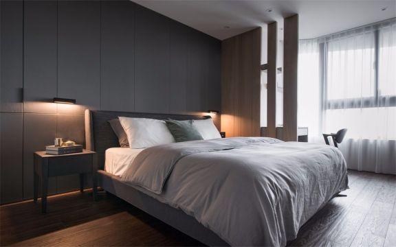 现代风格115平米两室两厅新房装修效果图