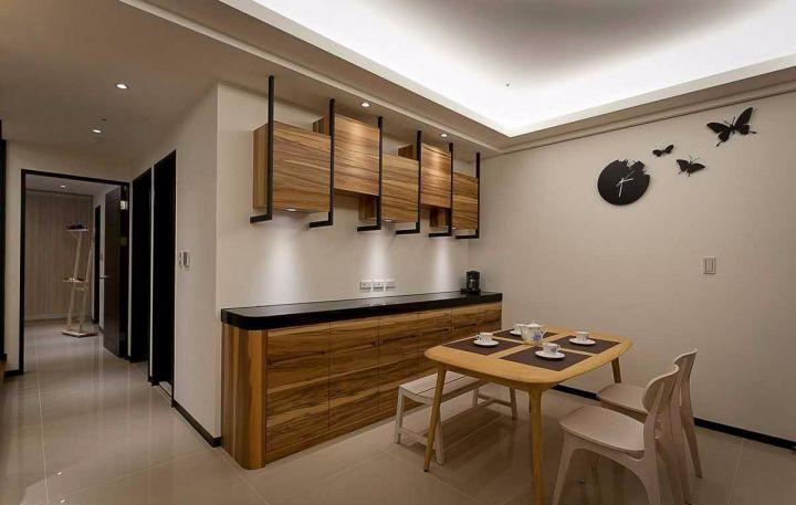10万预算100平米两室两厅装修效果图