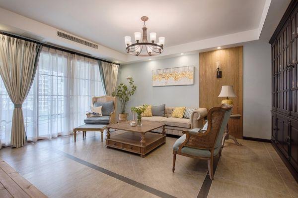 12万预算160平米四室两厅装修效果图