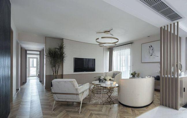 现代简约风格155平米四室两厅新房装修效果图