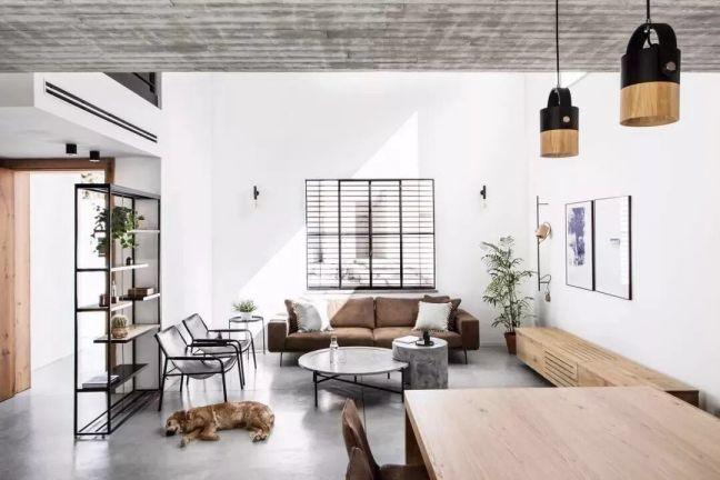 13.6萬預算130平米公寓裝修效果圖