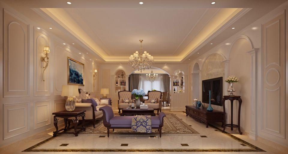 15万预算180平米四室两厅装修效果图