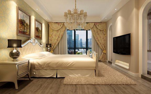 新古典风格86平米复式室内装修效果图