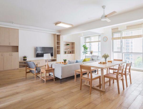 日式风格140平米四室两厅新房装修效果图