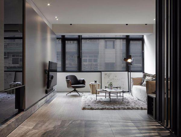 混搭风格二居室公寓80平米装修效果图