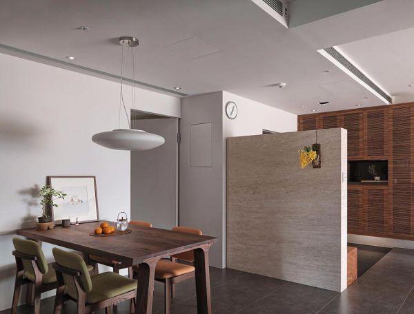 日式风格118平米三室两厅新房装修效果图
