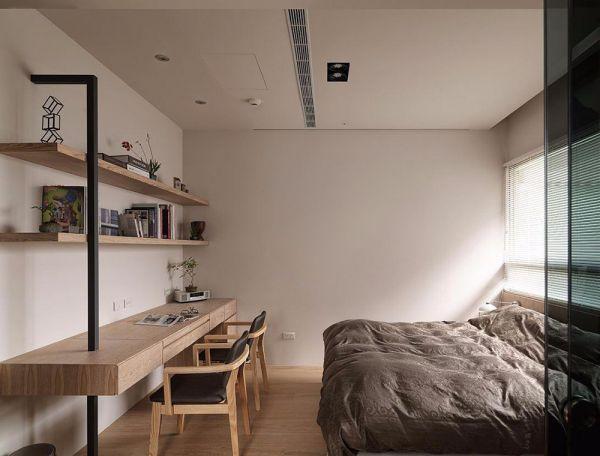 日式风格三室两厅118平米装修效果图