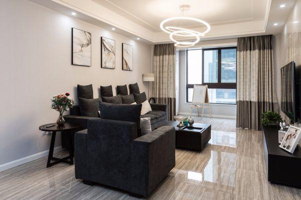 2019现代110平米装修设计 2019现代四居室装修图