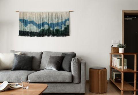 126方日式风格三居室装修效果图