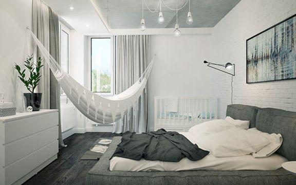 7.3万预算70平米公寓装修效果图