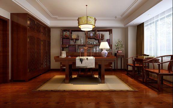 15万预算186平米四室两厅装修效果图