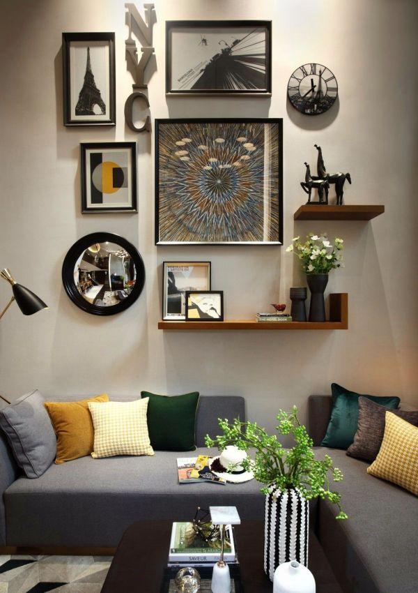 清爽沙发装饰实景图片