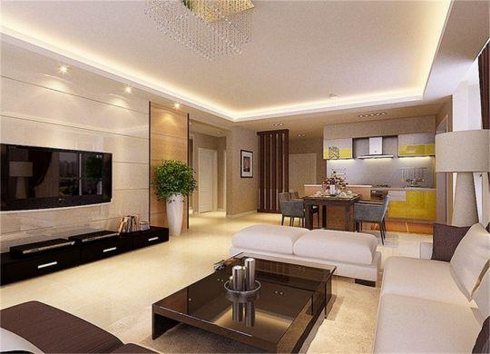 客厅沙发简约装修设计图片