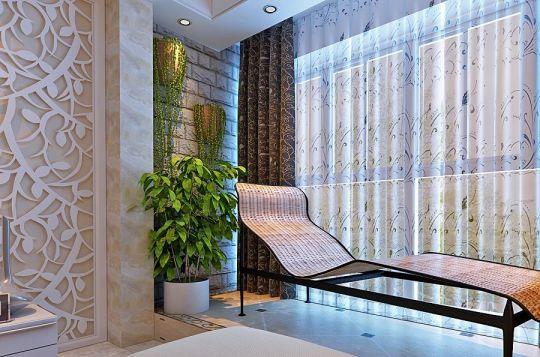 阳台落地窗现代风格装饰效果图