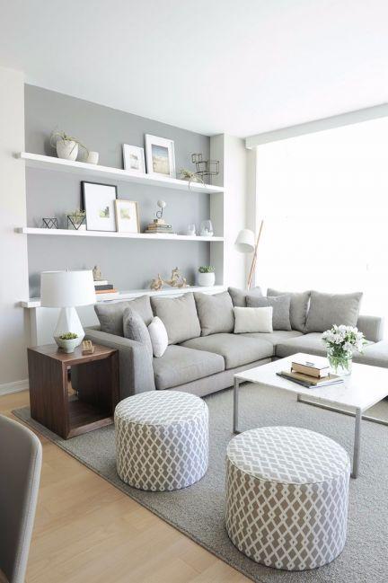 北欧风格60平米一居室新房装修效果图