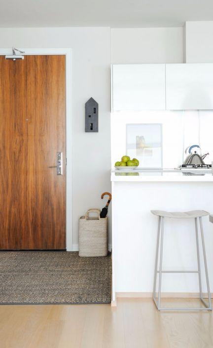 厨房厨房岛台北欧风格装饰设计图片