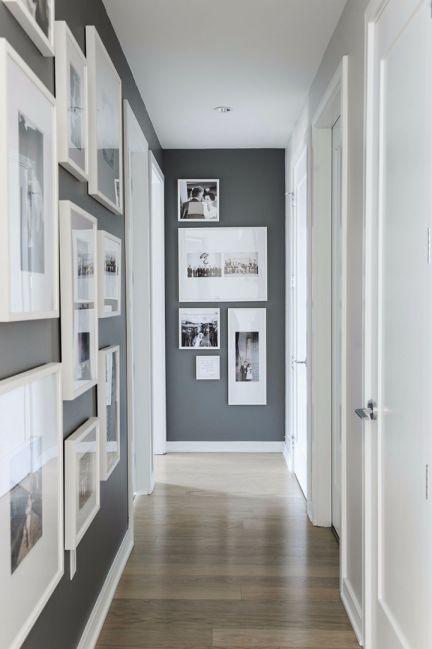 玄关照片墙北欧风格装潢设计图片