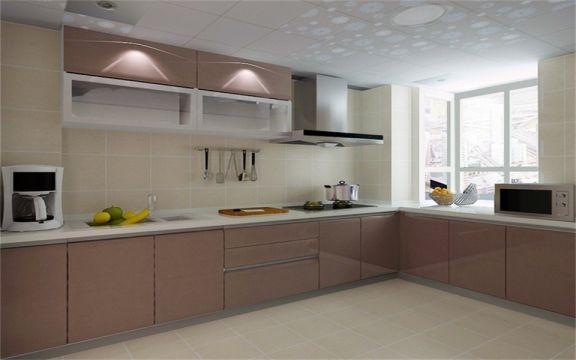 厨房橱柜新中式风格装饰图片