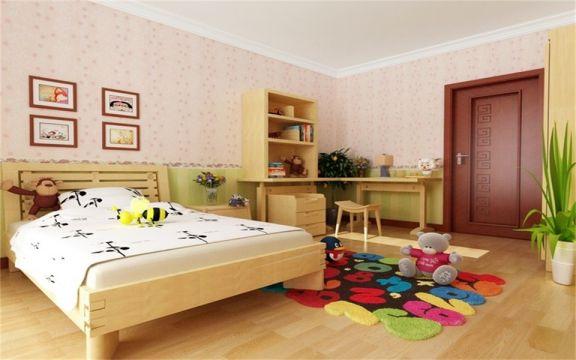 儿童房照片墙新中式风格效果图
