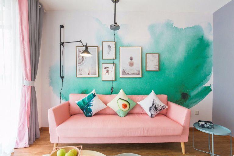 94平米简单风格三居室装修效果图