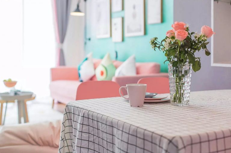 客厅沙发简单风格装潢效果图