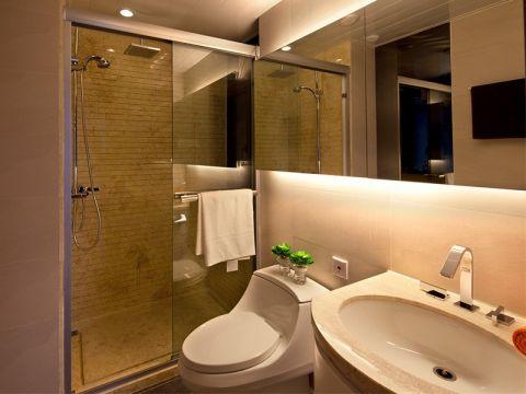 浴室洗漱台简欧风格装修图片