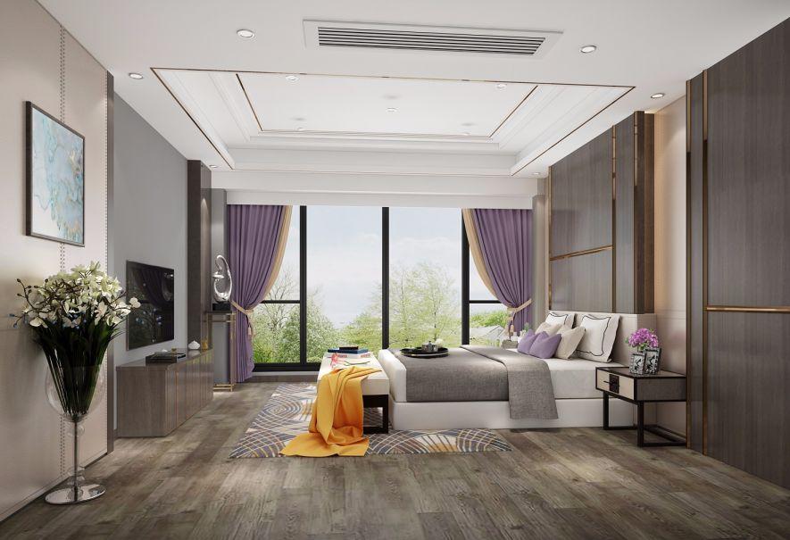 2019新中式卧室装修设计图片 2019新中式吊顶效果图