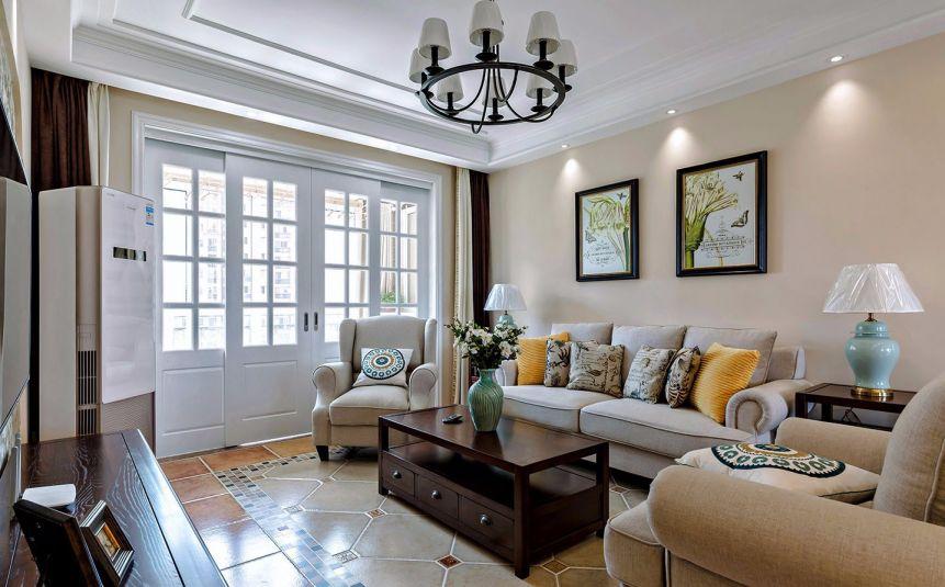 100平方巴洛克风格三居室装修效果图