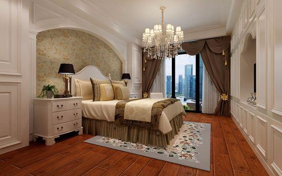 新古典风格180平米大户型室内装修效果图