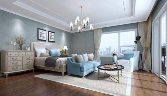 2018美式卧室装修设计图片 2018美式照片墙装修效果图大全