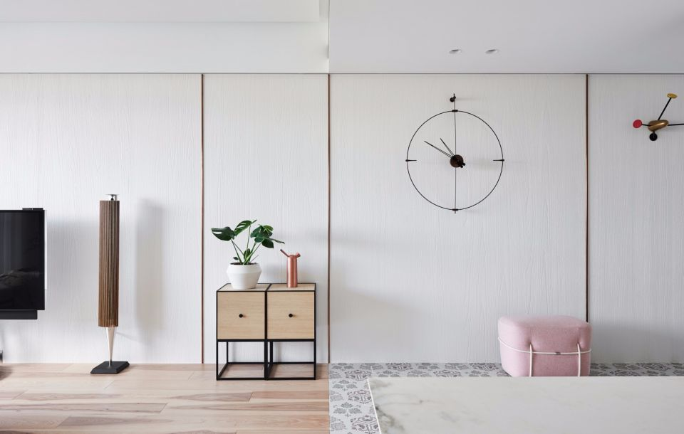 格调咖啡色客厅室内装饰