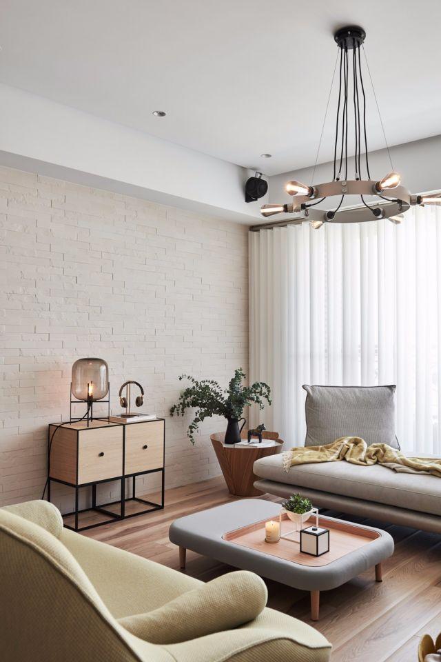 古朴客厅北欧设计图片
