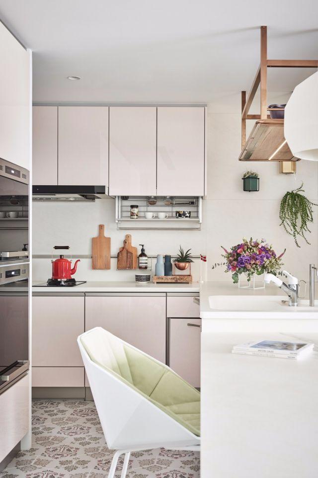 厨房橱柜北欧装修美图